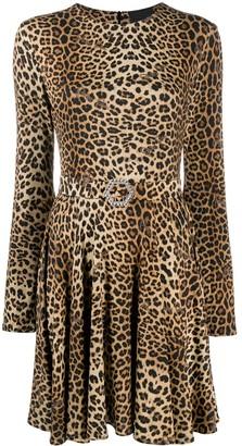 Philipp Plein Gilda leopard-print mini dress