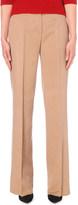 Max Mara Wide-leg camel-hair trousers
