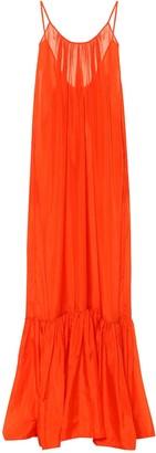 Kalita Exclusive to Mytheresa a Brigitte silk satin maxi dress