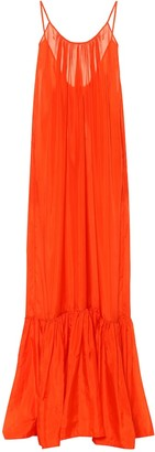 Kalita Exclusive to Mytheresa Brigitte silk satin maxi dress