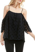 Vince Camuto Off the Shoulder Lace Top (Regular & Petite)