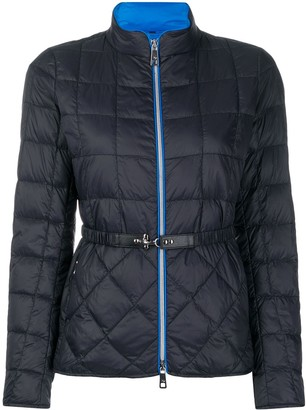 Fay Feather Down Belted Jacket
