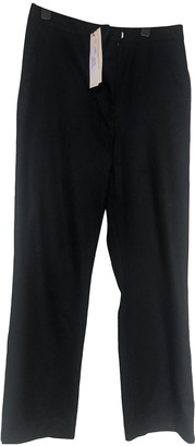 Rika Black Wool Trousers