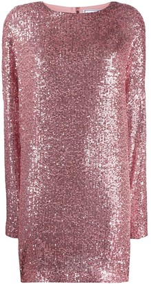 In The Mood For Love Alexandra sequin shift dress