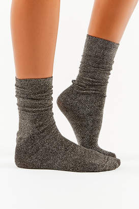 Urban Outfitters Sparkle Party Crew Sock