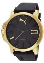 Puma Pu-Ultrasize 50 Analog Men's Wrist Watch, Gold