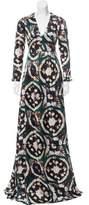 Burberry Batik Print Silk Dress w/ Tags