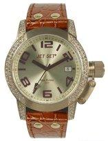 Jet Set J2068S-736 - Women's Watch, Leather, Color: marrone