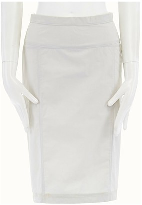 Narciso Rodriguez Grey Cotton Skirt for Women