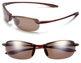 Maui Jim Women's 'Makaha' 64Mm Reading Sunglasses - Gloss Black