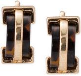 Lauren Ralph Lauren Gold-Tone Tortoiseshell Clip-on Earrings