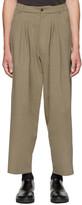 Bless Beige Ultrawidepleated Ii Trousers