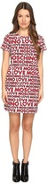 Love Moschino T-Shirt Dress Women's Dress