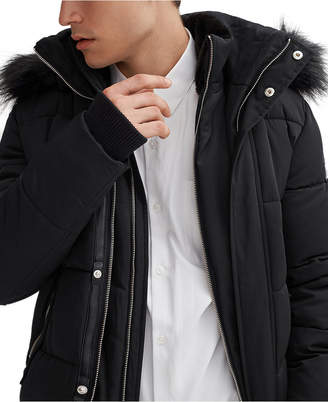 Noize Men Nixon Bomber with Faux Plush Lined Collar & Hood