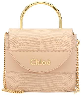 Chloé Aby Lock Small leather shoulder bag
