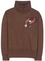 Each X Other Wool sweater with embroidered appliqué