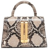 DeMellier The Nano Montreal bag in embossed snakeskin-effect leather