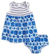 Nordstrom Mix Print Dress & Shorts Set (Baby Girls)