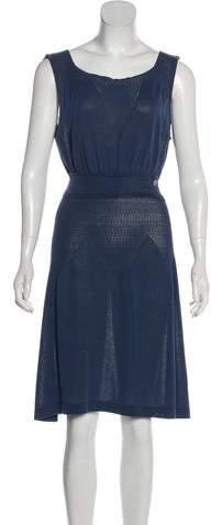 Chanel Pointelle Knee-Length Dress