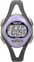 Timex Ironman Sleek Womens Purple Resin Strap 50-Lap Watch T5E5119J