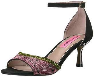 Betsey Johnson Women's Tavie Heeled Sandal