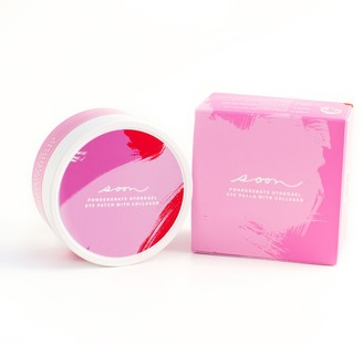 Soon Skincare Pomegranate Hydrogel Eye Patcheswith Collagen