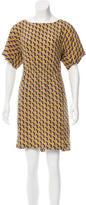 Rag & Bone Silk Geometric Print Dress