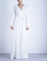 La Perla Maison stretch-silk robe