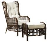 Panama Jack Bora Wingback Chair Sunroom Upholstery Color: Rave Spearmint