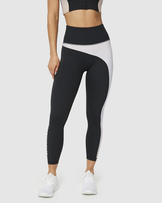 Muscle Republic - Women's Black 7/8 Tights - Gradient 7-8 Leggings - Size One Size, L at The Iconic