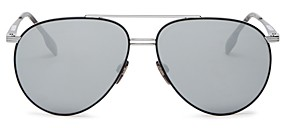 Burberry Men's Brow Bar Aviator Sunglasses, 60mm