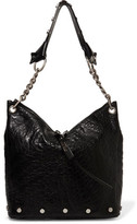 Jimmy Choo Raven Studded Textured-Leather Tote