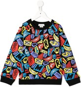 Stella McCartney Smiles print sweatshirt