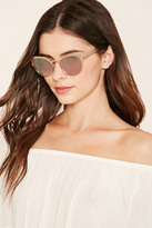 Forever 21 Ombre Cat Eye Sunglasses