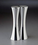 Nambe Kissing Salt & Pepper Shaker Set