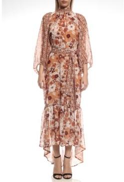 Colcci Boho Chic Print Long Dress