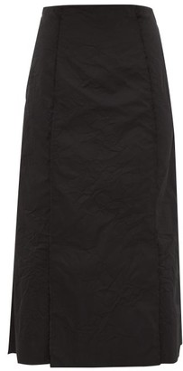 Brock Collection Pietraluna Crinkle-effect Technical Skirt - Womens - Black