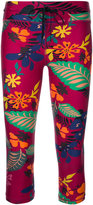 The Upside floral print cropped leggings - women - Polyamide - XS