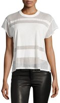 Rag & Bone Vintage Burnout Crewneck T-Shirt, White