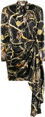 Giuseppe di Morabito Chain Print Mini Dress