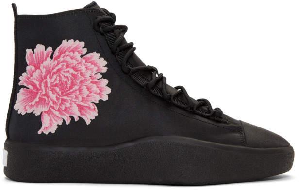 Y-3 Black James Harden Bashyo Sneakers
