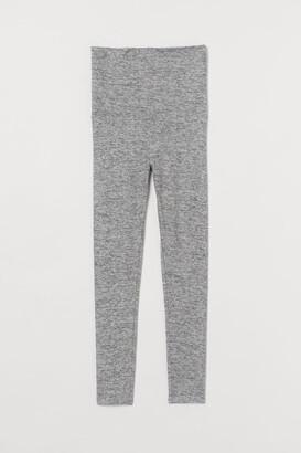 H&M MAMA Soft Leggings - Gray