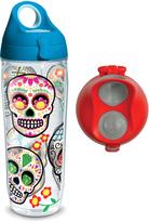 Tervis Colorful Sugar Skull 24-Oz. Water Bottle Set