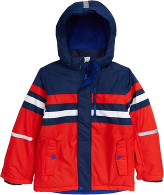 Boden Kids' Waterproof Hooded Jacket