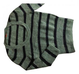 HUGO BOSS Green Wool Knitwear