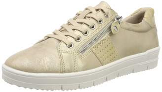 Tamaris Women's 1-1-23605-22 Low-Top Sneakers (Gold Comb 943) 7.5 UK