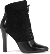 3.1 Phillip Lim Harleth leather and lace ankle boots