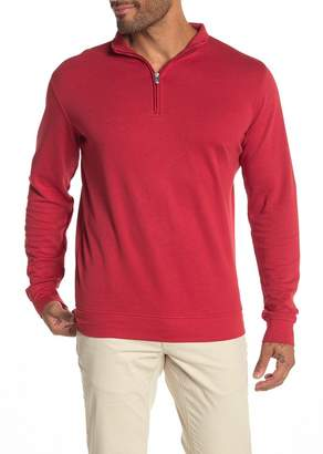 Peter Millar Crown Comfort Quarter Zip Knit Sweater