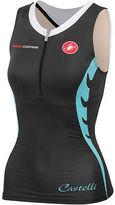 Castelli Body Paint Tri Singlet - Women's Black/White XL