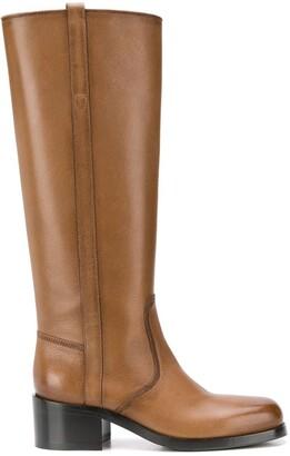 Santoni Knee-Length Boots